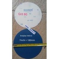 """Amplas Velcro 7"""" inchi grit 80 Ekamant"""