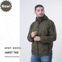 Jaket Army Tebal Pria Waterproof Windproof Windbreaker Premium TAD