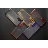 Vivo X50 SHINING CHROME TPU CASE CLEAR Silicone Case
