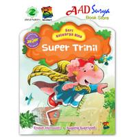 buku cerita anak bergambar : super trinil