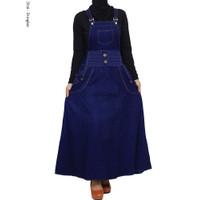 Overall Panjang Jumsuit Remaja Jeans Berkualitas Original Product - Biru