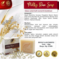 Milky Rice Soap