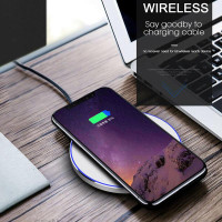 Wireless Fast Charging Pad Quick Charger Wireless Charger 10W