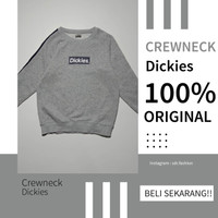 Crewneck Dickies Original Second Branded Warna Abu