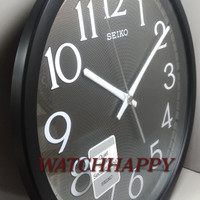 Jam Dinding SEIKO ORIGINAL QXA711K Quiet Sweep Best Seller Awet QXA711