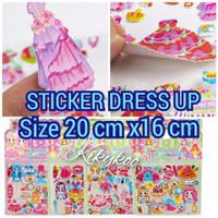 Sticker dress Up sticker timbul anak mainan orang orangan