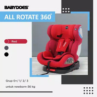 Kursi Mobil Bayi Car Seat Babydoes CH 8748 All Rotate 360 Isofix