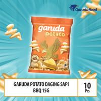 Garuda Potato Daging Sapi BBQ - 15g x 10 Pcs