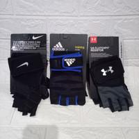 Training gloves sarung tangan fitnes multi fungsi NIKE, ADIDAS, AMOUR