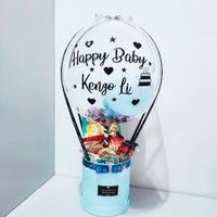 Hot Air Balloon Birthday / Balon Ulangtahun / Kado Snack - BL1020