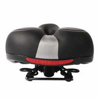 Sadel Jok Sepeda Per Shock Ball Absorb Comfort Bike Saddle Leather