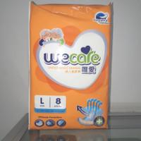 Wecare L 8 unisex adult diapers