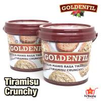 Goldenfil Tiramisu Crunchy Spread Selai Olesan Renyah 1 kg