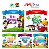 buku cerita anak bergambar : seri pengetahuan dasar PAUD