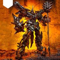 Mainan action figure transformers grimlock dinobot ancient leader-trex