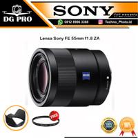 Lensa Sony Sonnar T FE 55mm F1.8 ZA Lens ORIGINAL