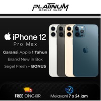 Iphone 12 Pro Max / 12 Pro 512GB 256GB 128GB Blue Gold Silver Resmi