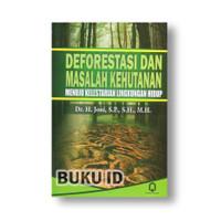Buku Deforestasi Dan Masalah Kehutanan