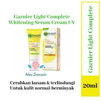 GARNIER LIGHT COMPLETE WHITENING SERUM CREAM UVA/UVB 20ML