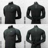 Baju Kaos olahraga lengan panjang sepeda running gym SWD005 Import - XXXL