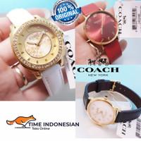 Jam Tangan Wanita Merk Coach Original 100% Baterai