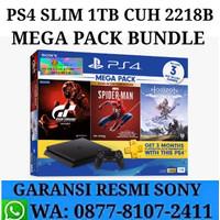 PS4 Slim 1TB Bundle Hits Garansi Resmi Sony