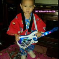 Mainan Edukasi Anak Laki Perempuan Gitar Gitaran Musik Murah Terbaru