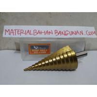 Mata Bor Pagoda Payung 4 - 40 mm Bor Susun Multi Step Cone Drill HSS