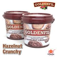 Goldenfil Hazelnut Crunchy Spread Selai Olesan Renyah 1 kg