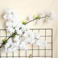 Bunga Simulasi - Bunga Sakura / Cherry Blossom Spray P100 - Putih
