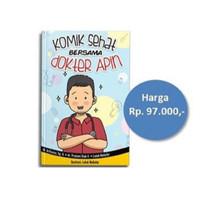 Buku Komik Sehat Bersama dokter Apin berwarna terlaris puspa
