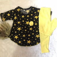 Grosir Setelan Tunik Anak Perempuan Misbee 1-6 tahun ELBOX Terbaru