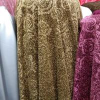 kain Jersey metalik motif mawar/ bahan Jersey/ cocok untuk dress, gaun