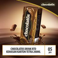 Chocolatos Drink RTD Kemasan Tetra 200ml - 5 Pcs