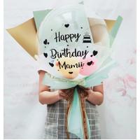 Buket Balon Ulang Tahun / Kado Birthday Baloon Bouquet Gift BL1020-2