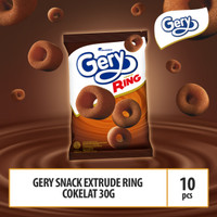 Gery Snack Extrude Ring Cokelat -30g (RING5)