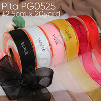 Pita PG0525 ±2.5cm x 20yard - Christmast - Kado - Hamppers - Florist