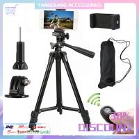 Camera Black Tripod Set Mobile Live Photography with Bluetooth