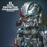Mainan robot action figure transformers megatron cute commander