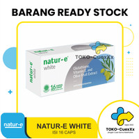 Natur E White Brightening Soft Capsule isi 16 tab
