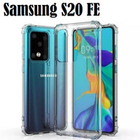Samsung Galaxy S20 FE Anti Crack Shockproof Soft Case Cover - Clear