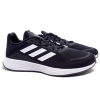 Sepatu Running Adidas Duramo SL - Cblack/Cloud White/Grey