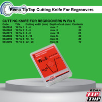 Rema TipTop Wfix5 Cutting knife for regroover 5642896