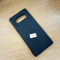 case Samsung Note 8 Bahan kulit jeruk black
