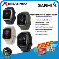 Garmin Venu SQ / Venu Square Music Edition NFC Garansi Resmi TAM