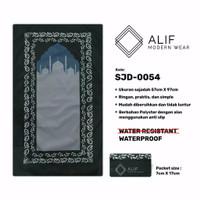 Sajadah Saku Anti Air | Sajadah Travel Lipat Alif Modern Wear SJD-0054