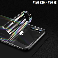 VIVO V20 / V20 SE Gradient Aurora Back Skin Sticker Protector - Clear