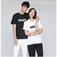 Kaos Couple Night Day M L XL