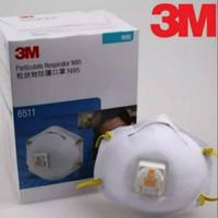 Masker 3M N95 8511 Original