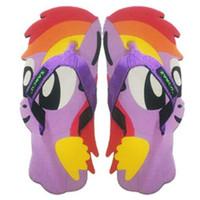 SANCU - Sandal Lucu Karakter Pony Ungu